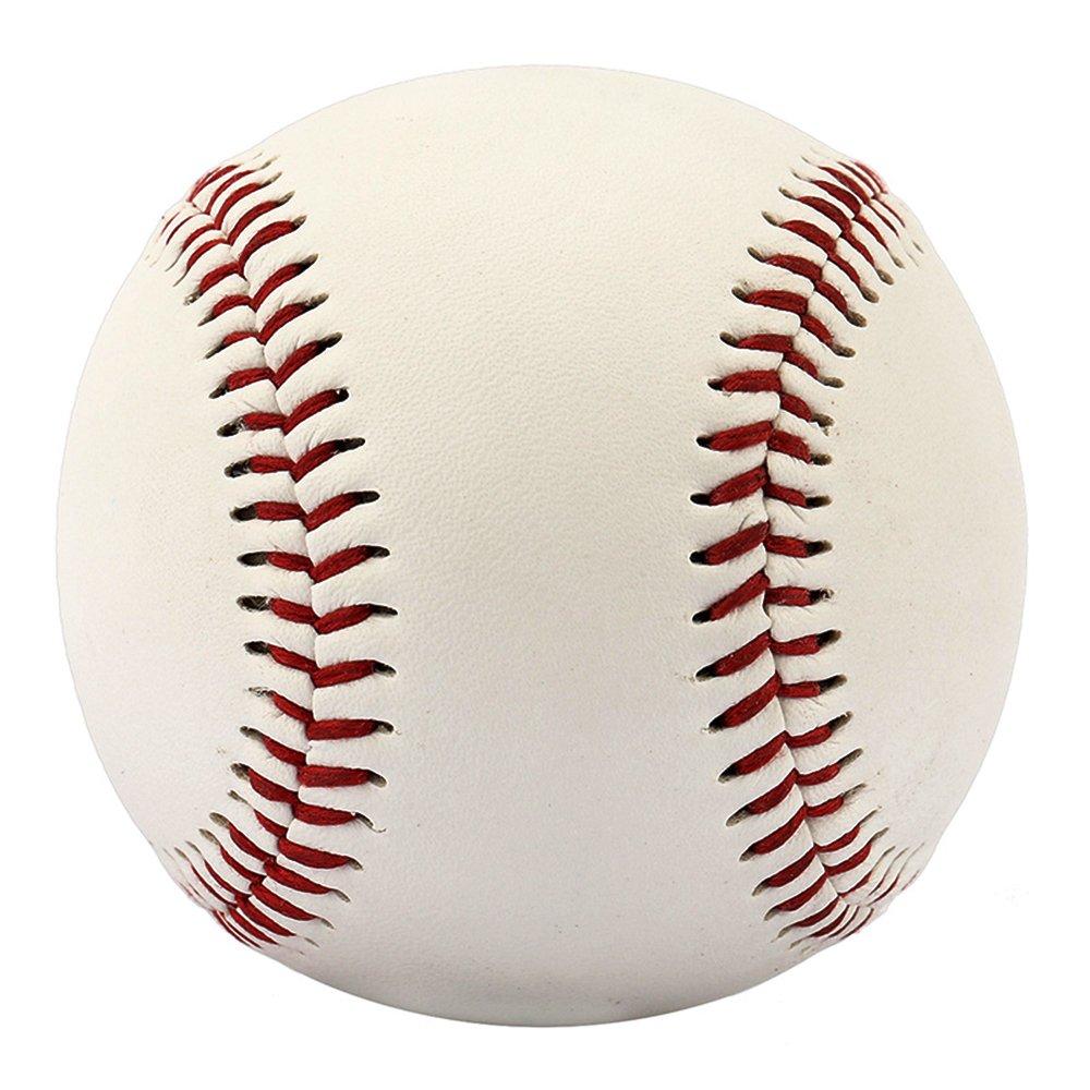 con costuras Cestval Pelota de b/éisbol reglamentaria para regalo y aut/ógrafos uso recreativo y entrenamientos