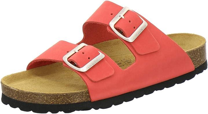AFS Schuhe 2100, Bequeme Damen Pantoletten echt Leder