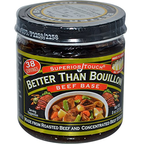 Better Than Bouillon, Superior Touch, Beef Base, 8 oz (227 g) - 2pcs