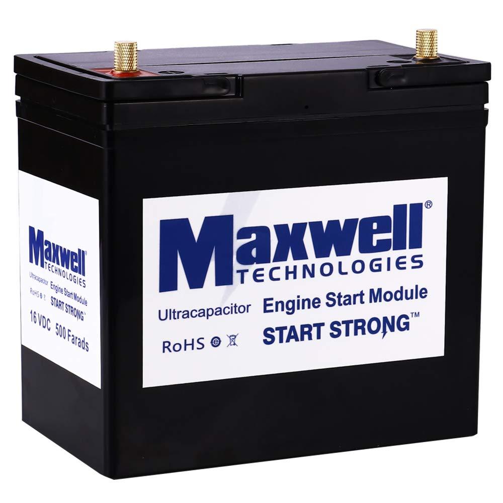 Maxwell super capacitor battery 16V 500Farad engine: Amazon
