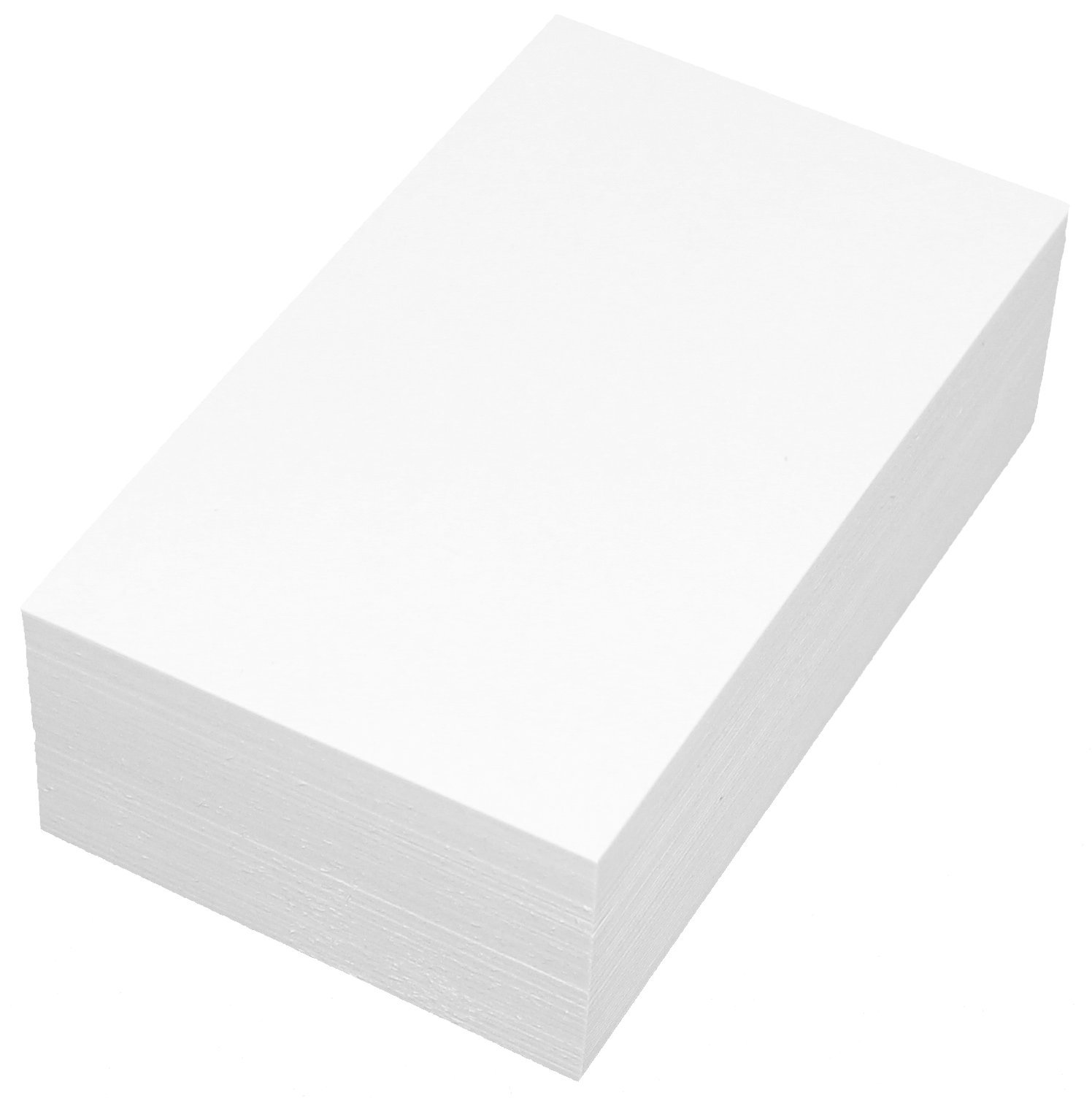 Debra Dale Designs Premium Blank Unruled White 20 Point Card Stock. Extra Thick - Super Heavy 3'' x 5'' Index Cards. 1 Package of 100. The Thickest Currently Available on Amazon.