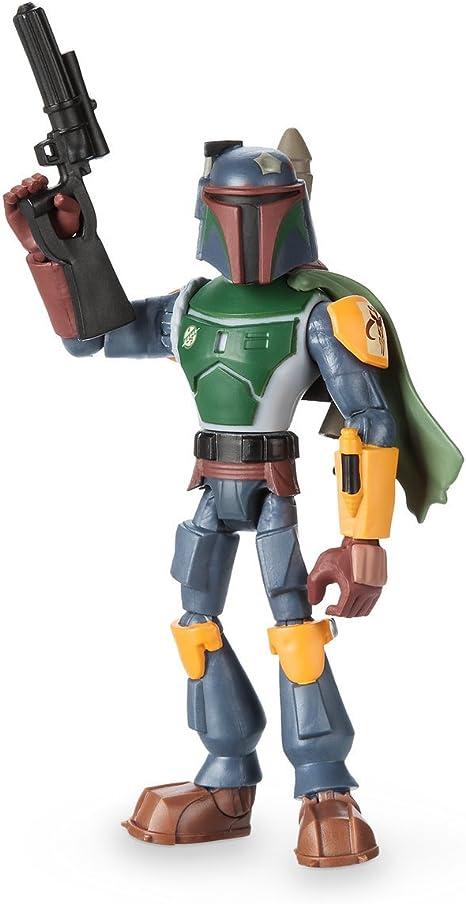"Star Wars Toybox Boba Fett  5/"" Action figure damaged box"