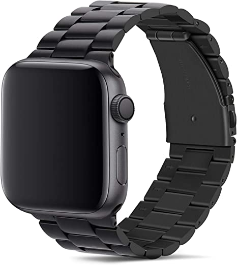 Tasikar para Correa Apple Watch 42mm 44mm Metal de Acero Inoxidable Correa de Repuesto Compatible con Apple Watch Series 5 Series 4 (44mm) Series 3 Series 2 Series 1 (42mm): Amazon.es: Electrónica