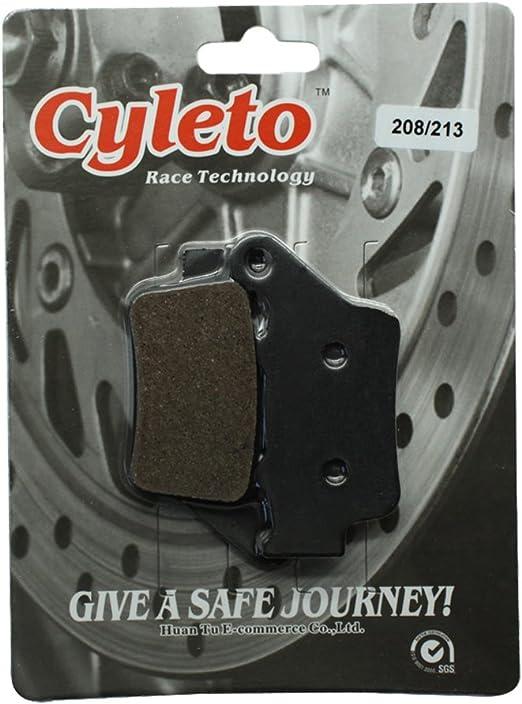 cyleto pastillas de freno delantero para F800S 2006 2007 2008 2009 2010//F800ST F800 St F 800 ST 2006-2012//F800ST Touring 2010 2011 2012