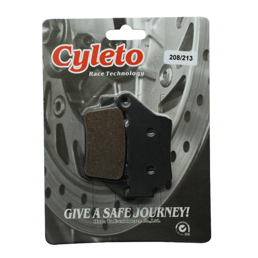 Cyleto pastiglie freno posteriore per BMW F800R F 800R F800/R 2009/2010/2011/2012/2013//F 800/R Chris Pfeiffer Edition 2009/2010/2011