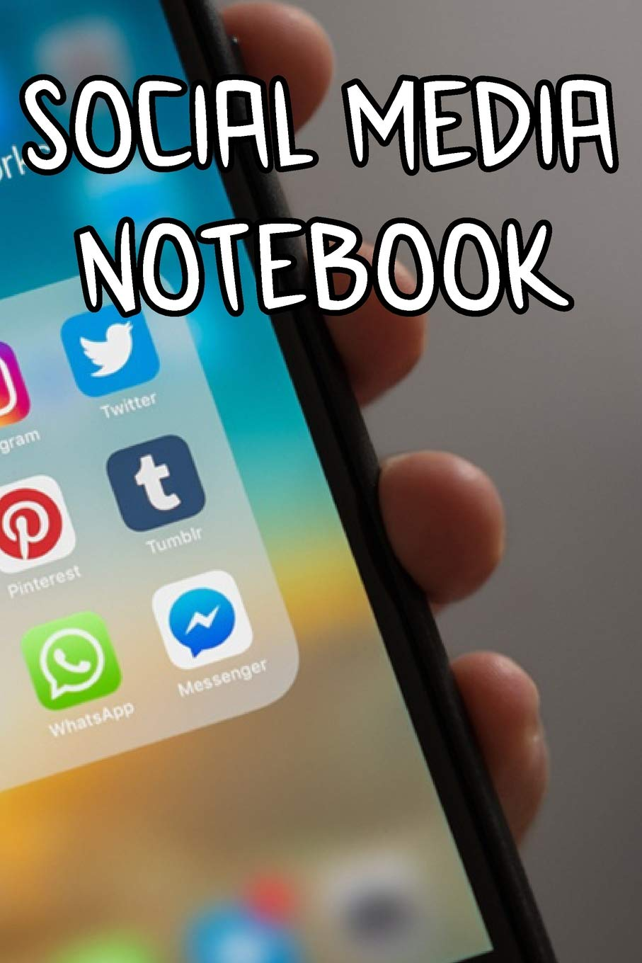 Social Media Notebook: Record Notes of Your Ideas, Business Social