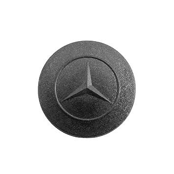 Goma 1 botón Repuesto mando a distancia carcasa llave negro Mercedes Benz Clase S a BC y chiavit rodillos concha llaves Coche Logo carcasa membrana ...
