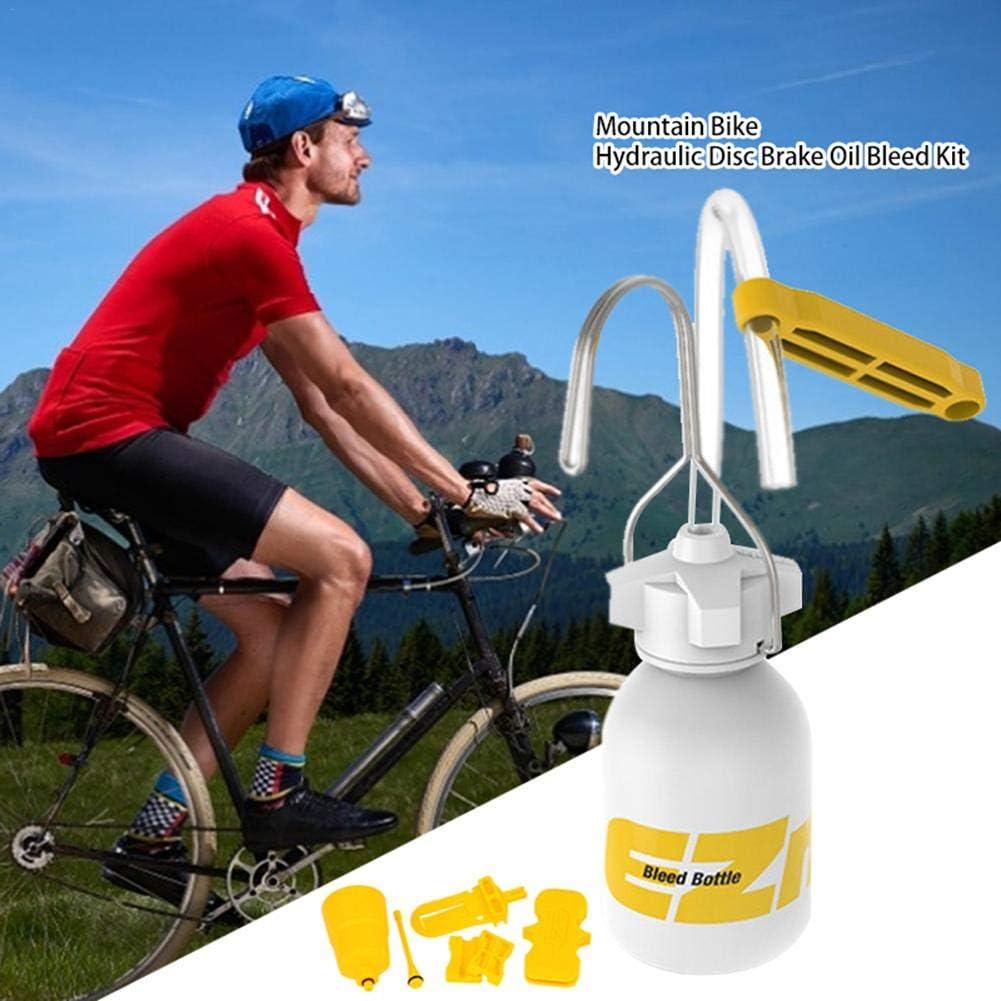 Freno de Disco hidr/áulico para Bicicleta de monta/ña Dot y Kit de Purga de Aceite Mineral para f/órmula AVID Hanyes Echo Shimano Tekro HS33 Magura Nutt