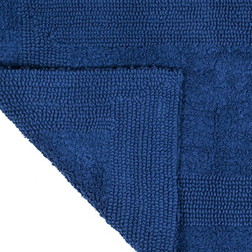 Ordinaire Amazon.com: Lavish Home Cotton Bath Mat  Plush 100 Percent Cotton 24x60  Long Bathroom Runner  Reversible, Soft, Absorbent, And Machine Washable Rug  By ...