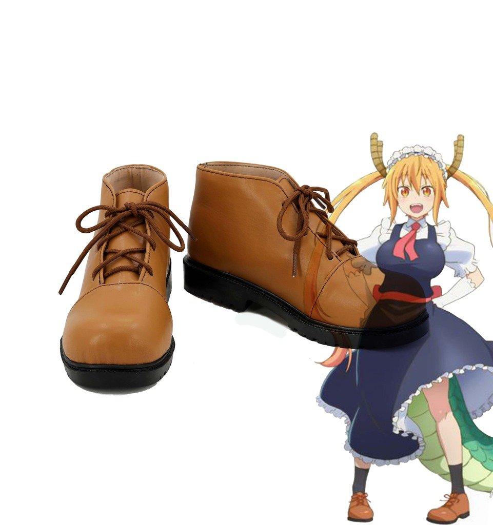 Miss Kobayashi's Dragon Maid Tohru Cosplay Shoes Boots Custom Made by Telacos
