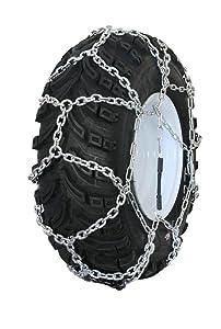 Grizzlar GTN-524 Garden Tractor/Snowblower Net/Diamond Style Alloy Tire Chains 15x5.00-6