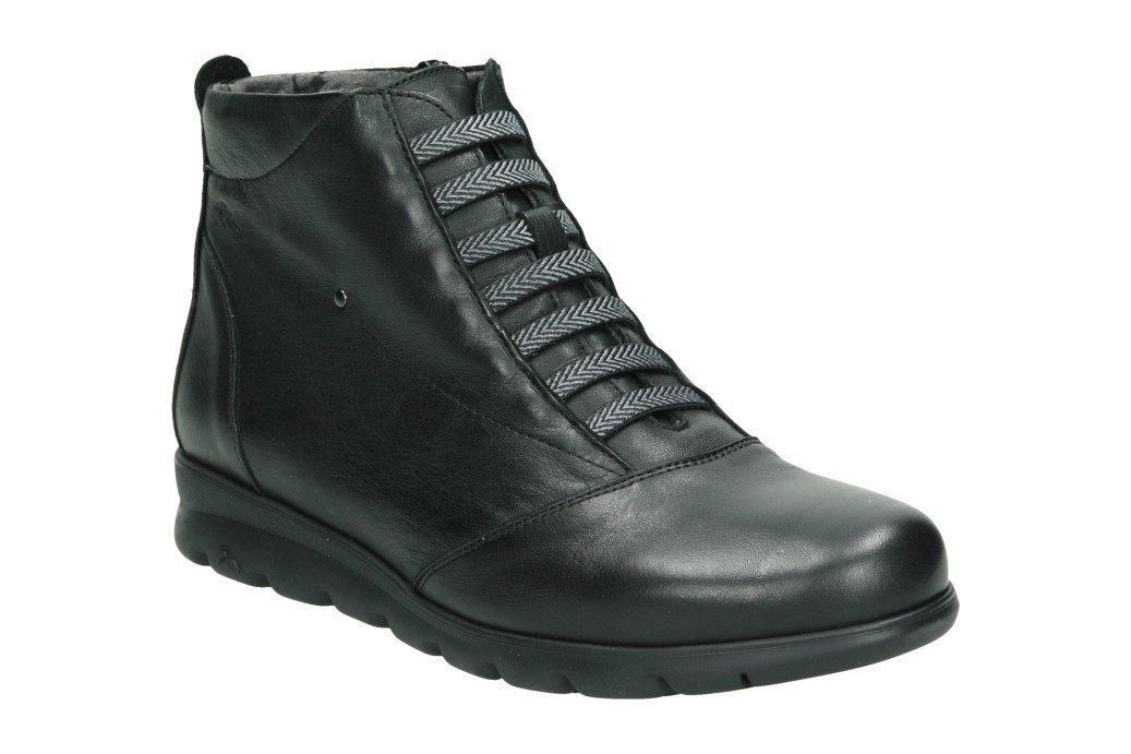 Fluchos Susan, Zapatos de Cordones Derby para Mujer 37 EU|Negro (Sugar Negro Negro)