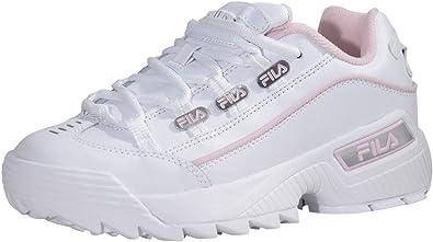 White/Chalk Pink Sneakers Shoes Sz: 9.5