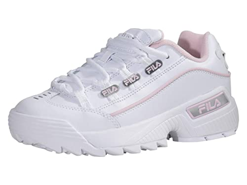 Fila Femme Hometown Synthetic Leather White Chalk Pink