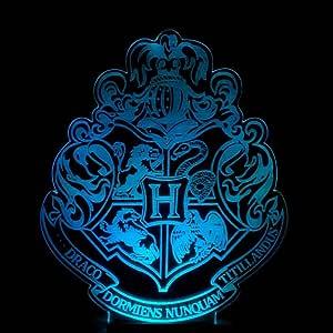Wmshpeds Harry Potter Hogwarts Escuela de Colores Insignia