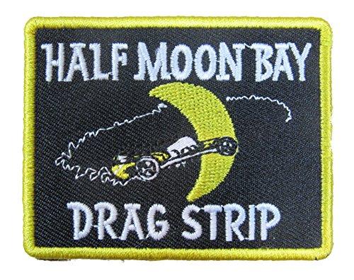 Half Moon Bay Drag Strip Iron On ()