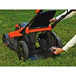 BLACK+DECKER 40V MAX Cordless Lawn Mower, 20-Inch (CM2043C) 19 Two 40V max Lithium ion batteries are included for twice the runtime Mulching, bagging and side discharge of grass clippings gives you 3-in-1 versatility Mow right up to edges and spend less time trimming thanks to the edgemax design