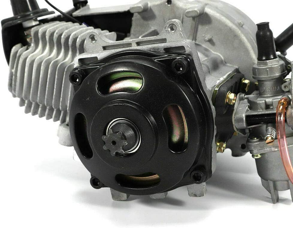 Wangkangyi Jasemy Motor Dirt Bike Pocket Bike 49CC//47CC Engine Motor ATV Quad Moto Aluminium Kinderquad Mini Getriebe Vergaser