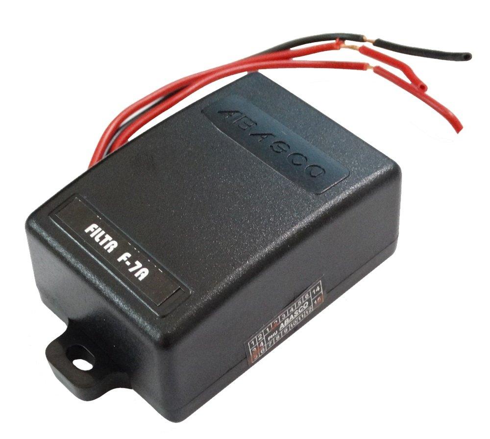 Aerzetix sk2 C10037 Filtro antidisturbo per auto auto suo Autoradio 7 a 12 V Aerzetiks Eood SK2C10037