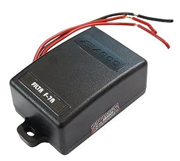 Aerzetix SK2C10037 - Filtro antiparásitos para radio de Coche 7 A, 12 V: Amazon.es: Coche y moto