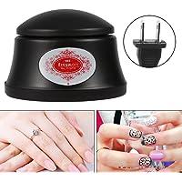 Filfeel máquina quitaesmaltes de uñas, Herramienta de manicura al Vapor Caliente para Quitar el Gel de uñas más fácil, Negro, 1
