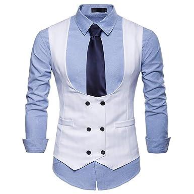 abito giacca smanicato uomo