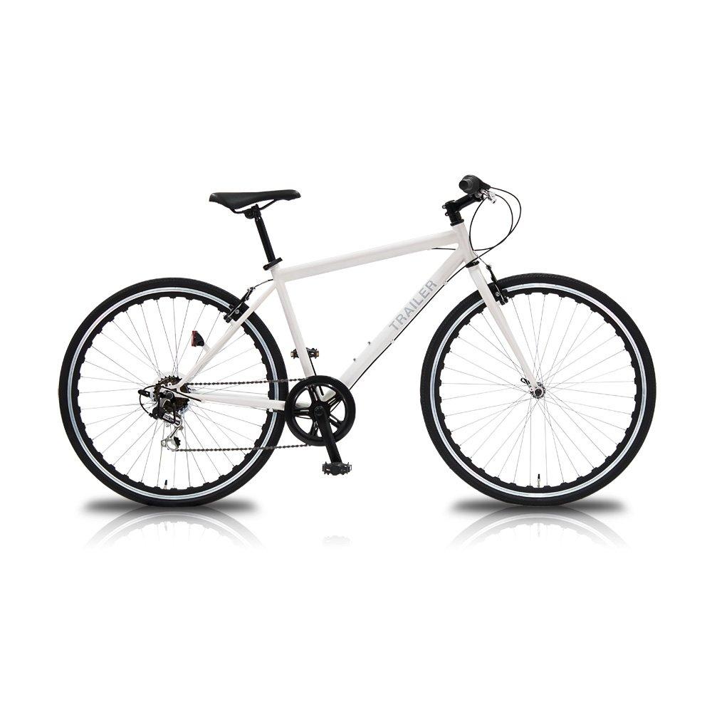 TRAILER(トレイラー) 700Cクロスバイク 6段変速 TR-C7003 B01MDP5XV9 ホワイト ホワイト