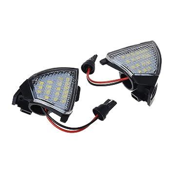 2 luces LED para espejo lateral sin errores para VW Golf 5 Mk5 MKV Passat B6