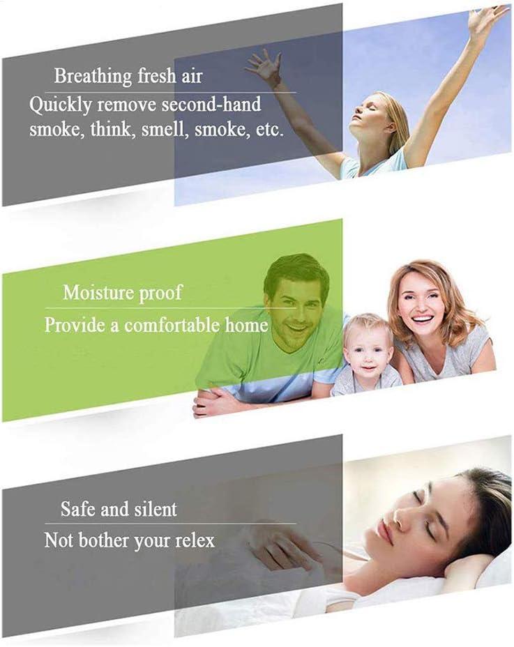 EtexFan 4 Wand Befestigter Abluftventilator Stille Bel/üftung 120M/³//H Mit Kupferner Motor 100MM Schlafzimmer Badezimmer Und Kleine R/äume F/ür Toiletten