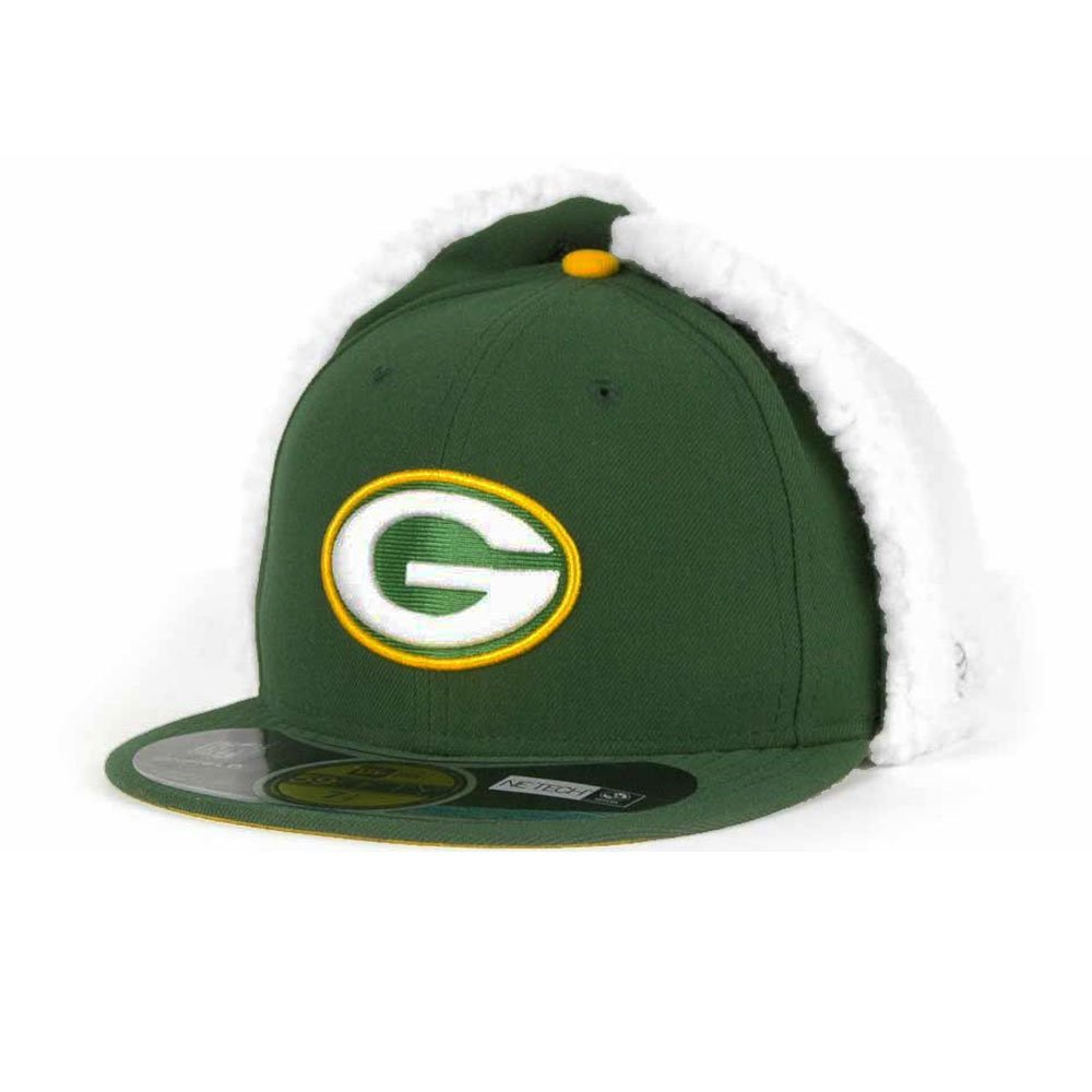 581cba15 59FIFTY Green Bay Packers Officially licenced NFL New Era Dog Ear ...