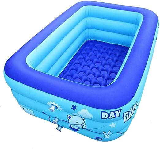 BATHTUPA Arena - Piscina Hinchable de 3 Pisos para niños, bañera para bebé, Piscina Hinchable para niños,