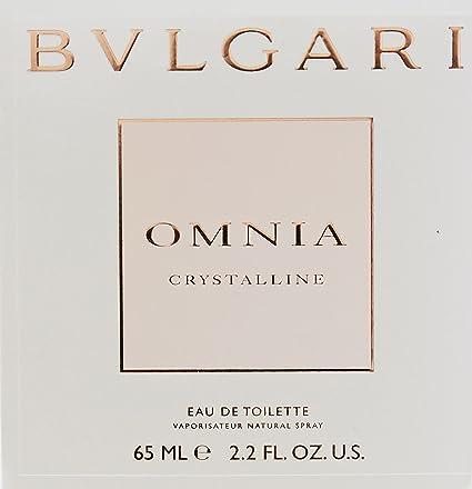 Amazon.com   Bvlgari Omnia Crystalline for Women Eau De Toilette Spray, 2.2  fl oz   Bvlgari Perfume   Beauty 7a475b520e