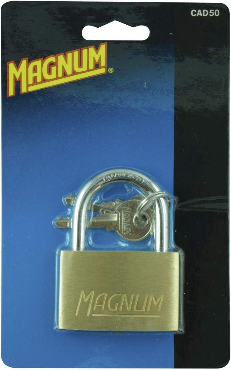 Master Lock CAD50-Magnum Brass Cadenas 50 Mm