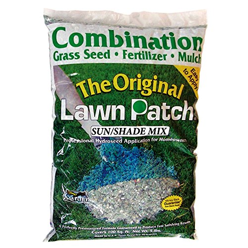 Amturf 34332 Sun/Shade Lawn Patch 5-Pound Bag