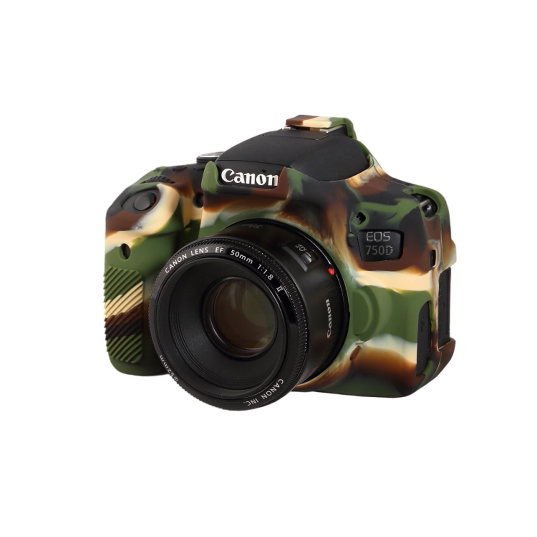 easyCover EA-ECC750DC Case for Canon 750D/T6i (Camo)