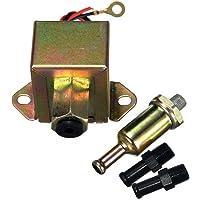 Camecho Bomba de combustible eléctrica y universal de metal, automática, para gasolina y diésel, de baja presión y 12 V para carburador de coche, motocicleta o cuatrimoto