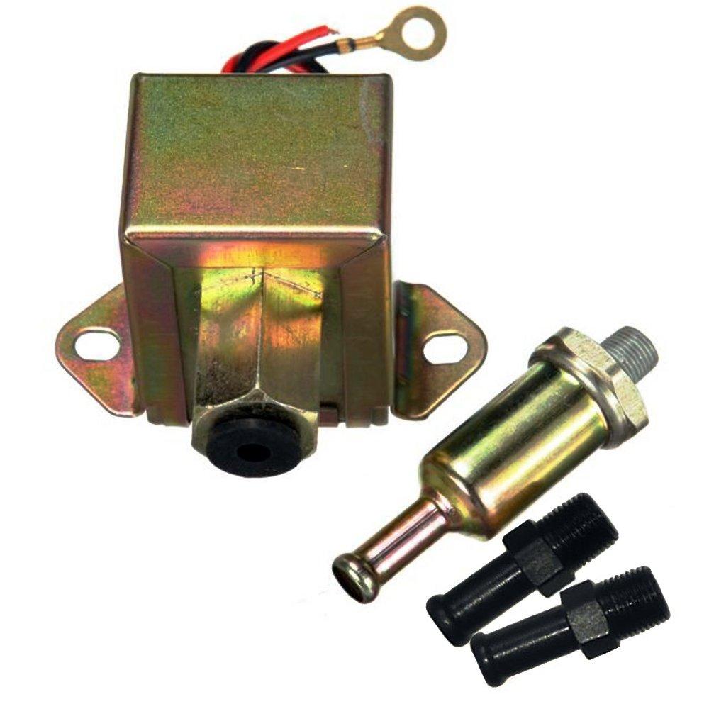 Camecho 12V Universal Kraftstoffpumpe Elektronik Benzin Diesel Benzinpumpe Ö l Pumpe Elektro-Pumpe icamecho CMOO-K0103