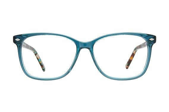 Lunettos Skyler Womens Eyeglass Frames - Teal at Amazon Women\'s ...