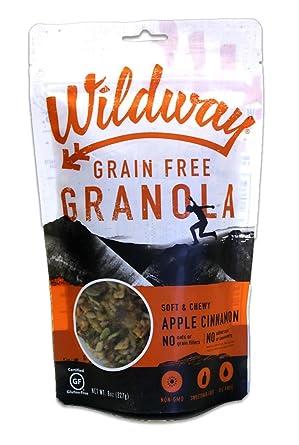 Wildway - Granola de manzana sin grano de canela de manzana ...