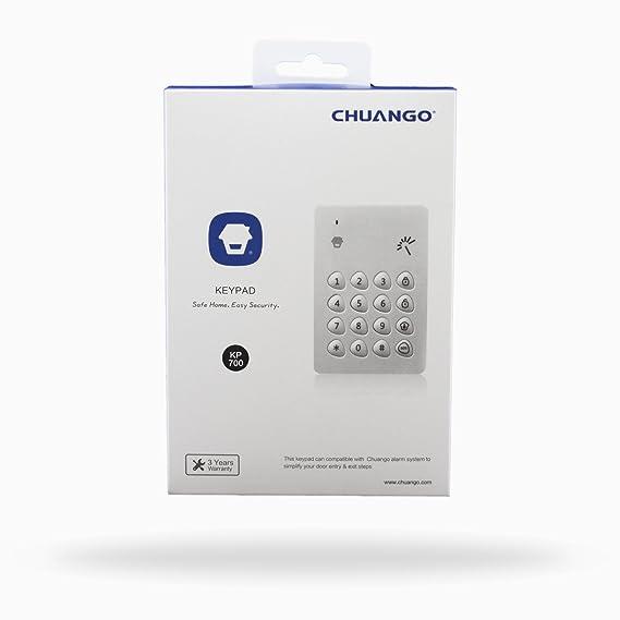 CHUANGO KP-700 Wireless RFID KEYPAD, Color Blanco: Amazon.es: Bricolaje y herramientas