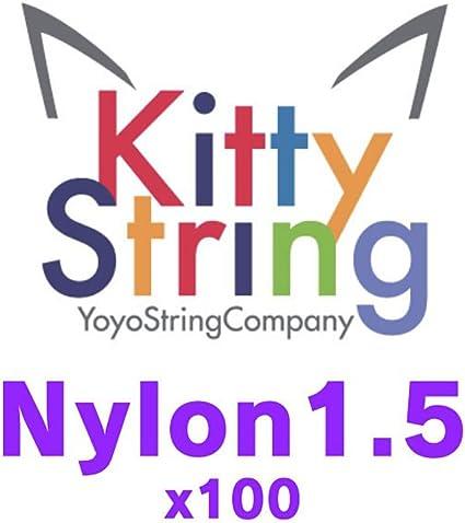 Kitty String Nylon 1.5 Yo-Yo String 10 Pack of String