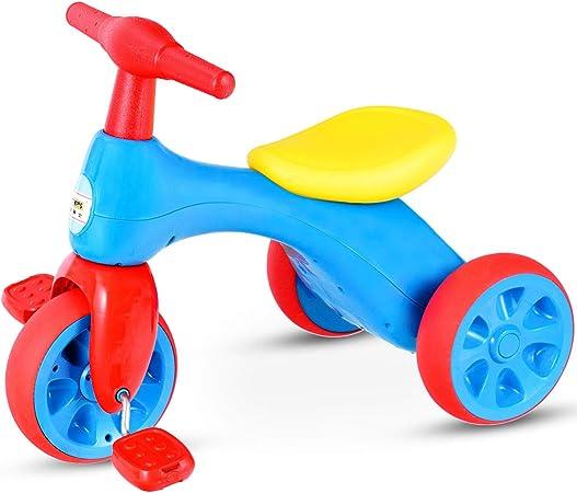 Amazon.com: Costzon - Andador de triciclo para bebé con ...