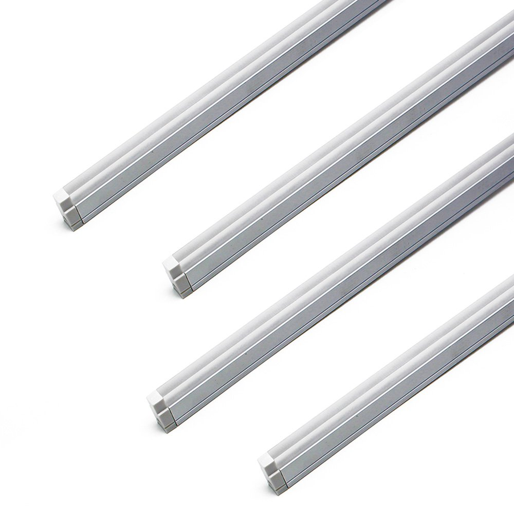 LEDLampsWorld H Shape LED Crystal aluminum Channel System, 4-Pack 3.3ft/1M 30x10.5mm with Cover, End Caps and Mounting Clips, LED Light Diffuser Segment for LED Strip Installations