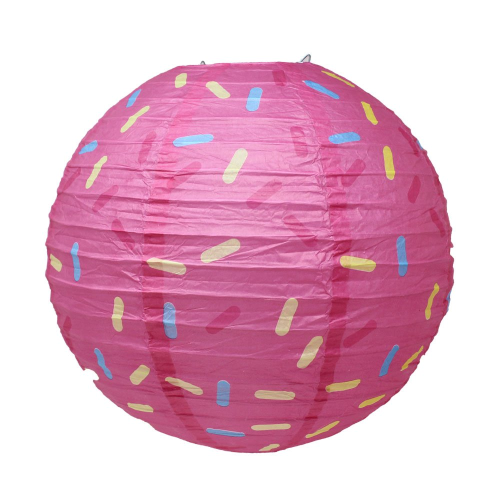 Just Artifacts 12inch Hanging Paper Lanterns (Sprinkles Pattern, 3pcs) by Just Artifacts (Image #3)