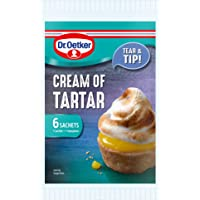 Dr. Oetker Cream of Tartar Sachets - 6 Sachets 5 grams each