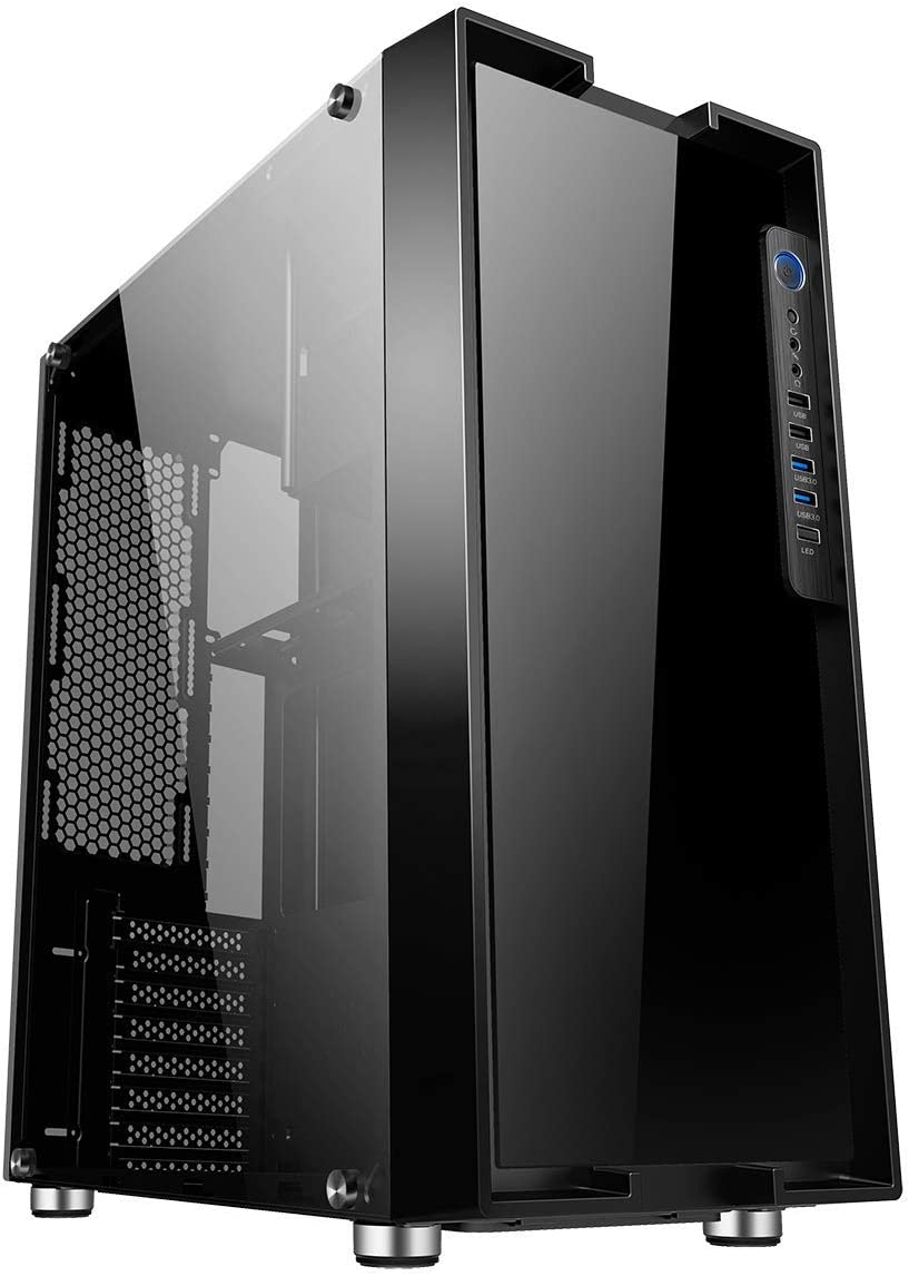 Game Max Fortress Full Tower Pc Gaming Gehäuse E Atx Computer Zubehör