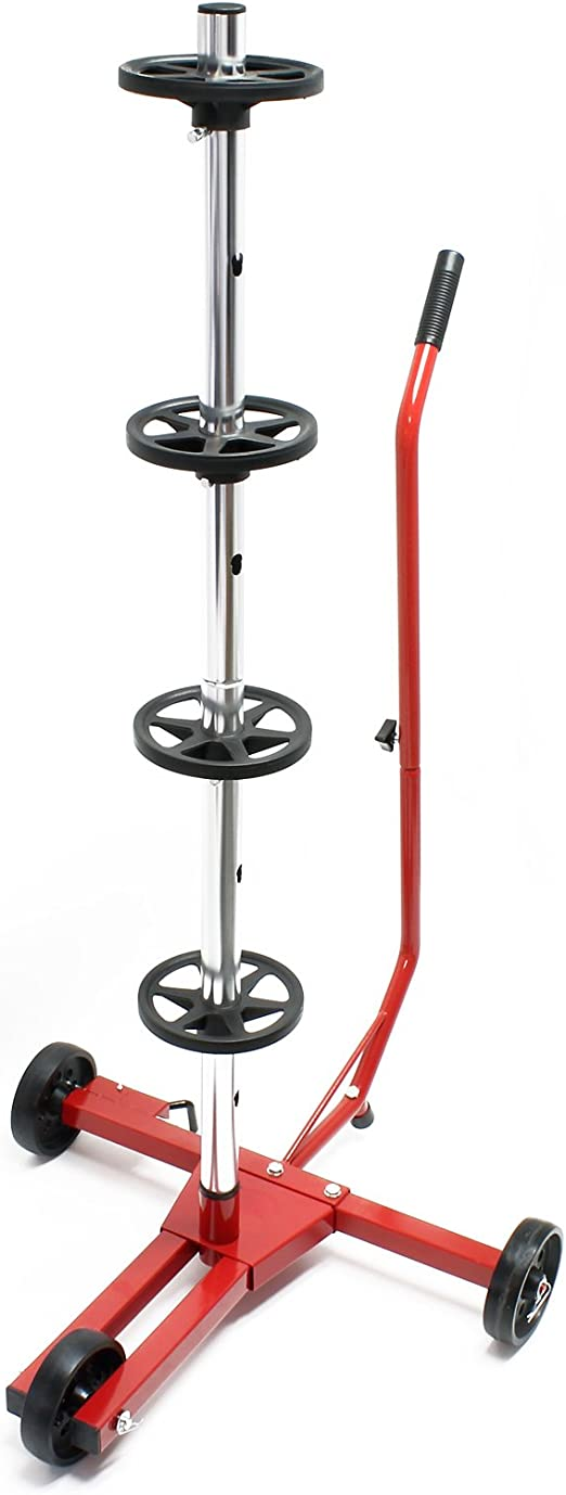 Fahrbarer Reifenständer Felgenbaum Für Pkw Reifen Bis 225 Mm Auto