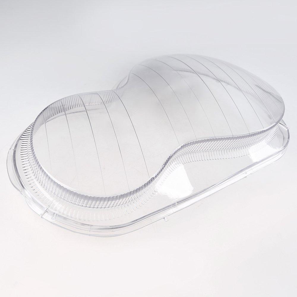 Lichtscheibe Scheinwerfer Abdeckung Transparent Gl/äser Rechts Seite Beifahrerseite
