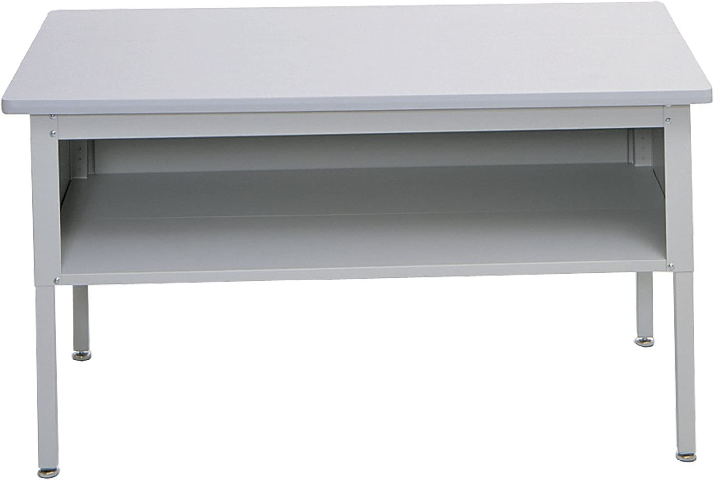 Safco Products E-Z Sort Mail Station Sorting Table with Shelf, Gray