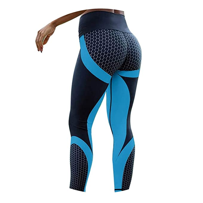 Amazon.com: Fitness Sport Leggings Women Femme Girls Workout ...